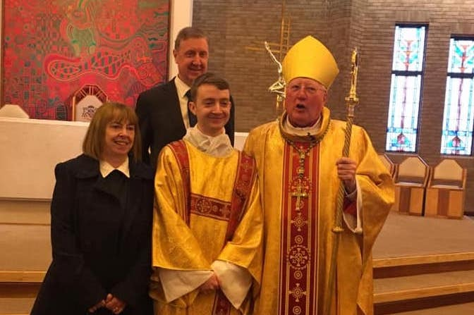 Ordination of Peter Taylor to the diaconate